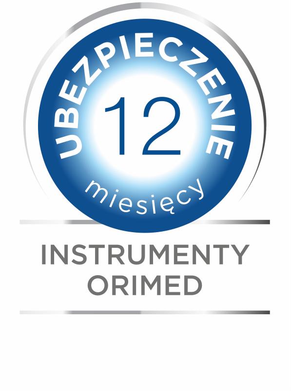 Instrumenty Orimed - ubezpieczenie 12 miesięcy